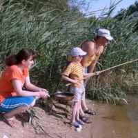 Семейная рыбалка с гарантией улова