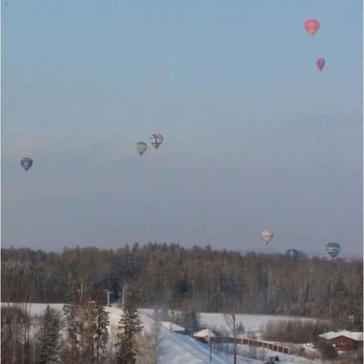 Полет на воздушном шаре до 8 человек