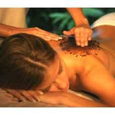 СПА процедура кедровая бочка, пилинг и питание всего тела