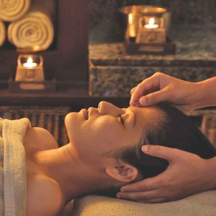 Тайский массаж лица и головы