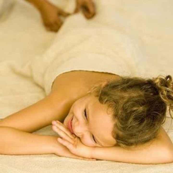 Купить подарочный сертификат на тайский детский oil-массаж
