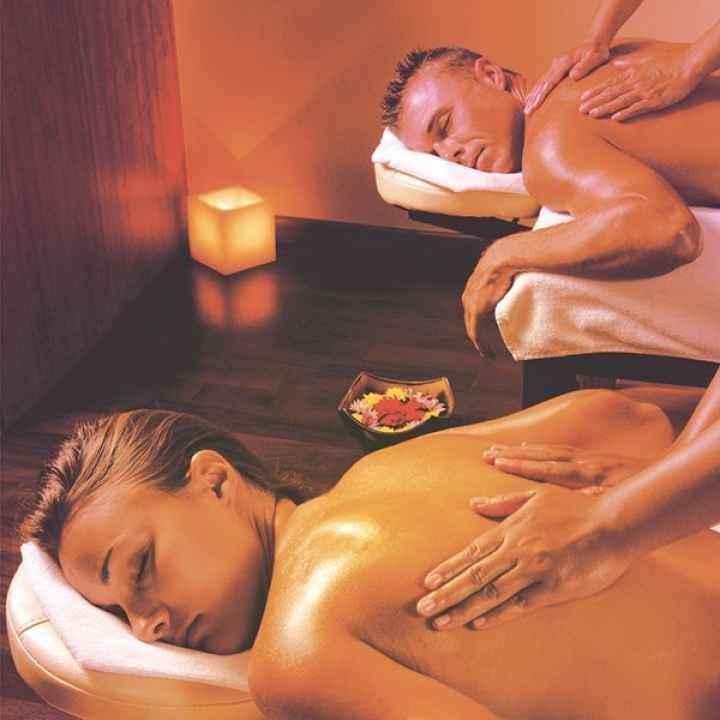 Купить подарочный сертификат на тайский арома-oil массаж для двоих